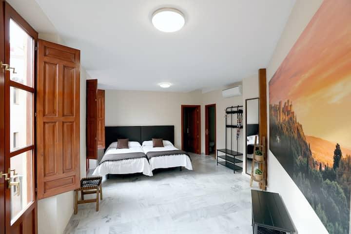 Apartamento Reyes Católicos: 1 dormitorio 4 camas
