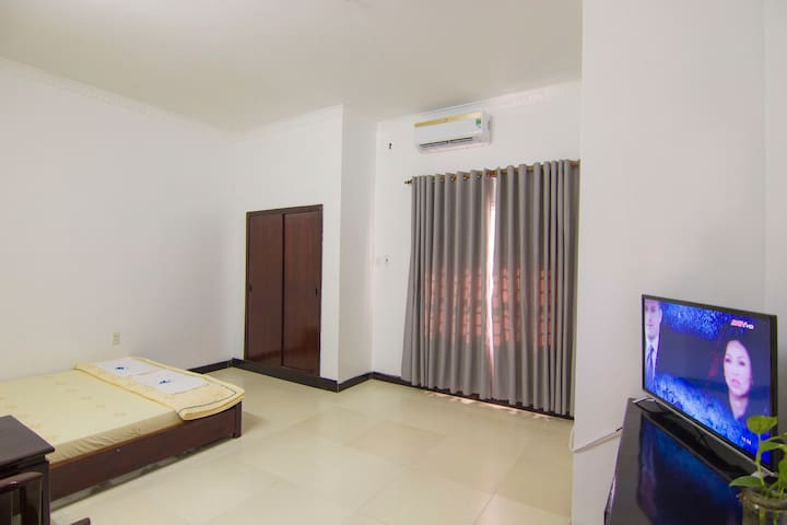 Bedroom 306 with a comfortable double bed for great night's sleep