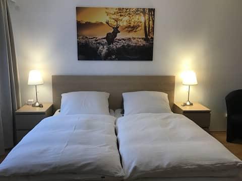 Apartment ✨ Ideal für 2 EZ / DZ ... 2 - 5 Personen