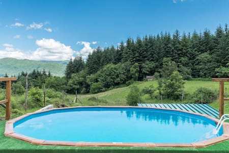 MEDITATION PLACE with POOL in GARFAGNANA - Casciana - Haus
