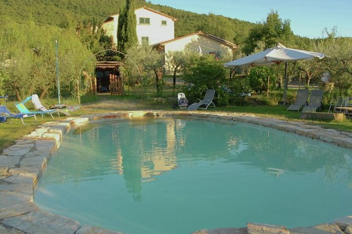 Harmonious Villa in Cortona with Swimming Pool
