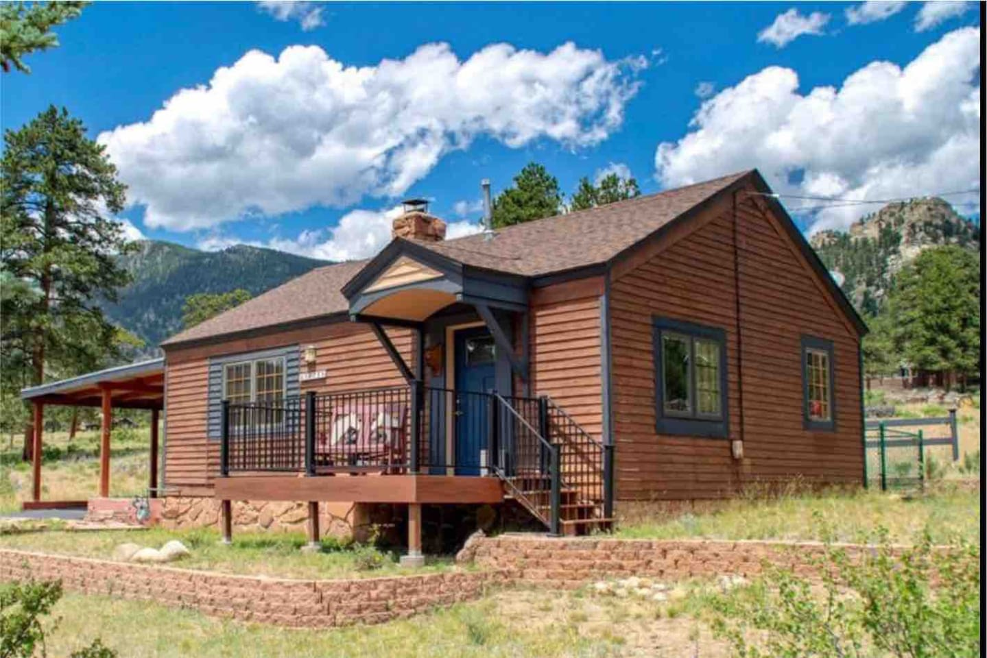 Enjoy a truly unique and special visit in this picturesque setting steps away from Rocky Mountain National Park.