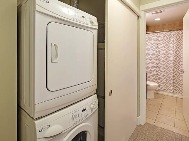 Washer/Dryer and Outside of Bathroom (Since Been Updated)