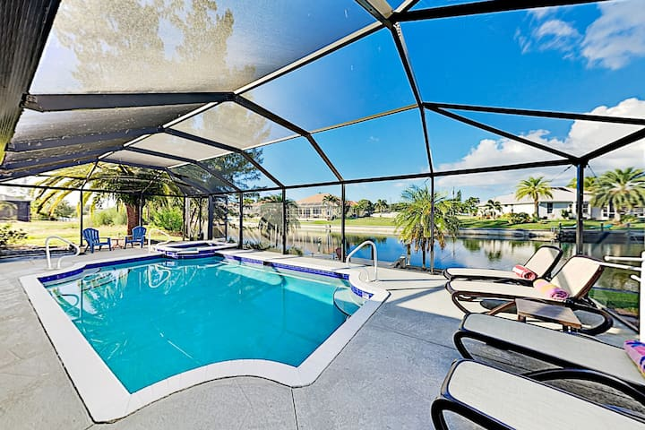 Waterfront Oasis | Private Caged Pool, Spa & Dock