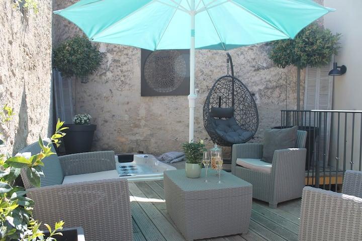 Appartement :SUITE 118 terrasse SPA
