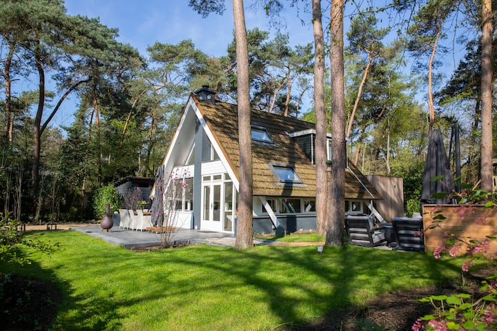 Luxury villa Isabella in forest in Baarle-Nassau