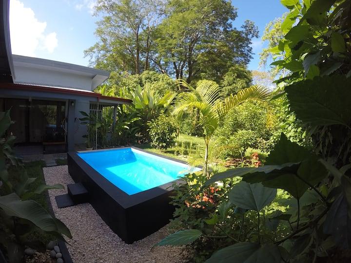 Tropical Garden House, Uvita.