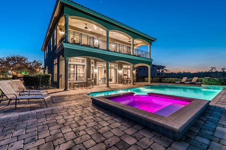Luxury 6 bedroom home - Brand new Games Room! - Kissimmee - Talo