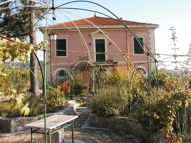 Villa con splendida vista - Arpino - Daire