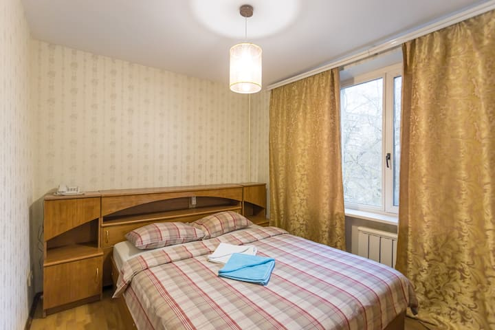 Comfort 2 rooms 3 minutes by walk to Paveletskaya