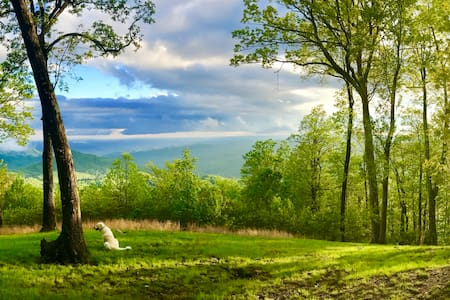 The High Carolew Over Brevard Mountaintop Paradise