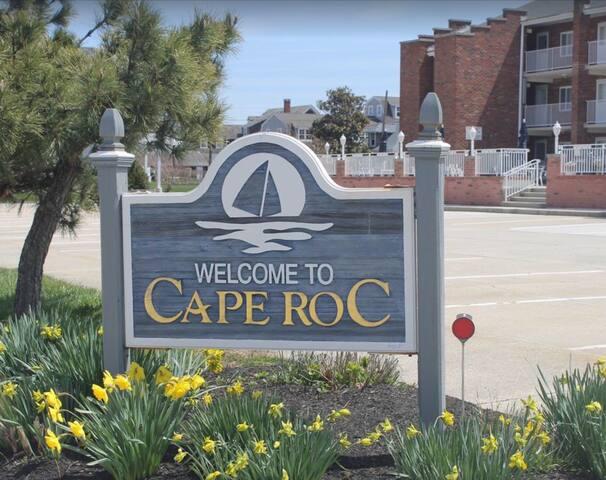Cape May Beach Block 1 Bed Cape Roc Condo w/ Pool