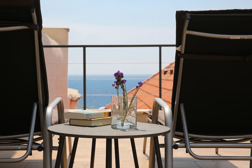 Soak up the magnificient views from your very own balcony!