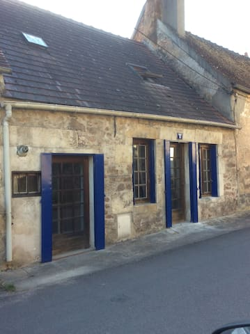 Burgundy cottage in Avallon - Avallon - Townhouse