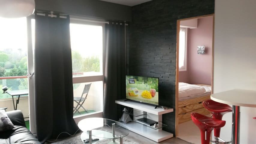 Appartement tout confort, avec vue sur mer - Villers-sur-Mer - Apartament