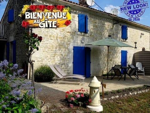 Gîte  au Calme - Bord de Rivière - Marais Poitevin