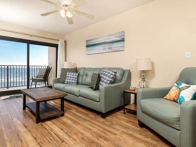 6th Floor Condo W/ Direct Gulf-Front Views!! On-Site Picnic Area, Grills!