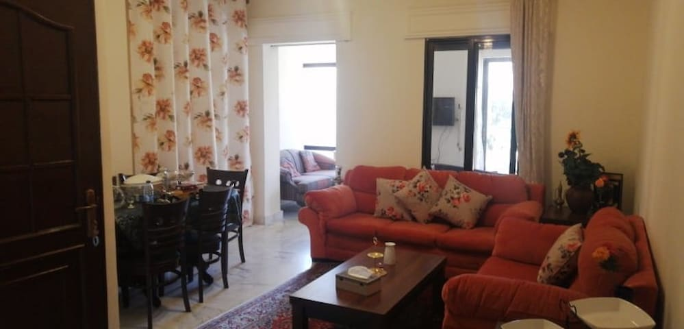 ready Fully furnished private apartment 2 bedroom
