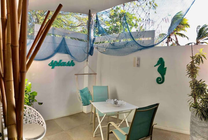 Palm Beach B new&cute studio wififree, beach close