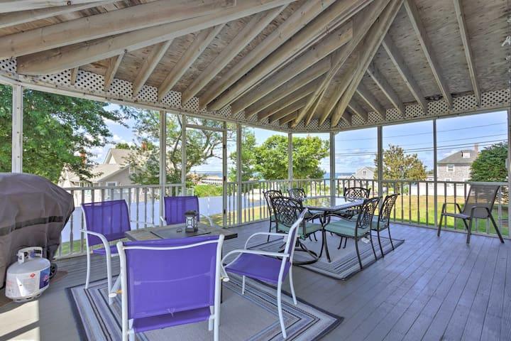 Fantastic Plymouth House w/Huge Deck & Ocean Views