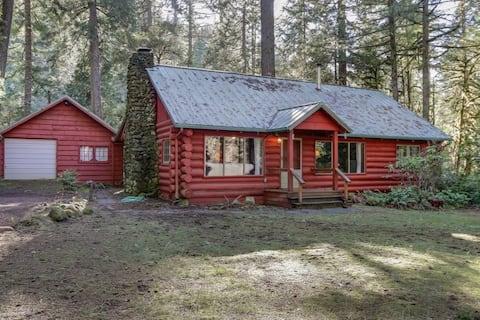 The historic McKenzie River cabin