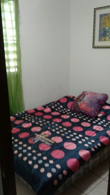 Full bed for one or two guest visiting Puerto Rico