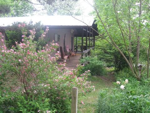 An Ozark Oasis Cabin