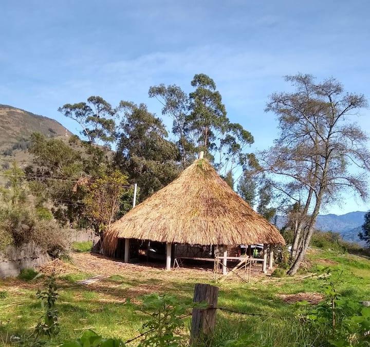 Hostal Bahía: Casa rústica en ambiente campestre