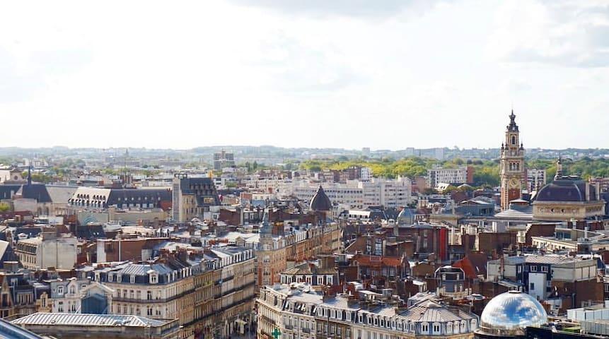 Apartment with amazing view! 2min de la Gare.
