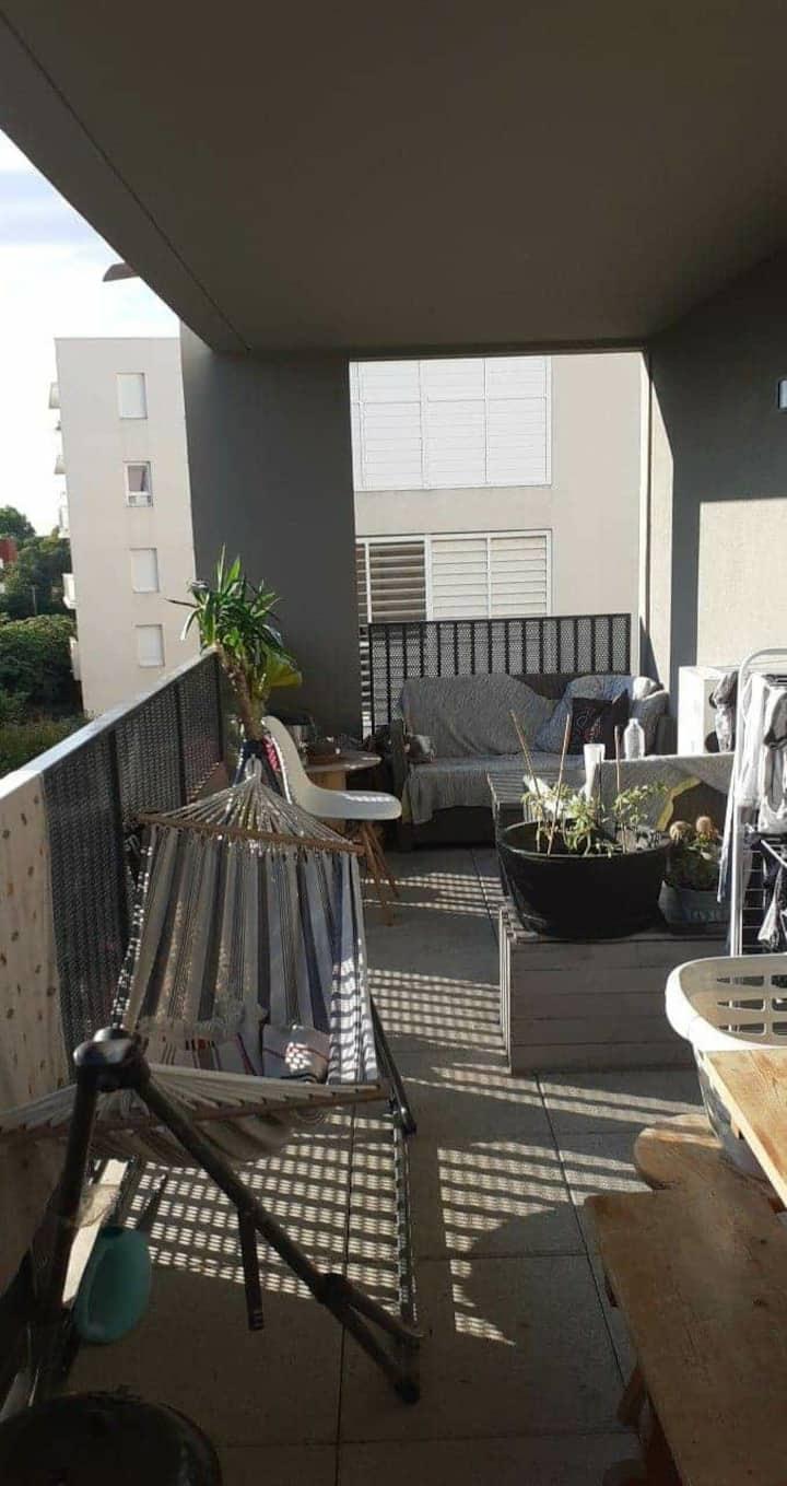 Appartement cozy avec terrasse donnant sur jardin