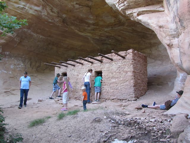 Visit the many ancient ruins in our local canyons