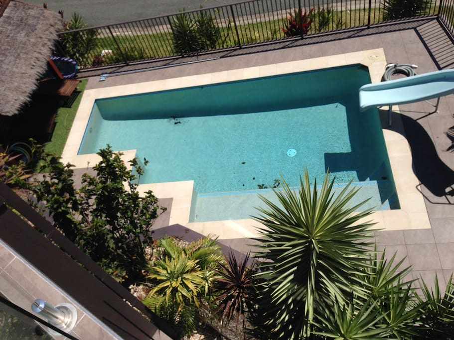 The Pool from the Upstairs Balcony