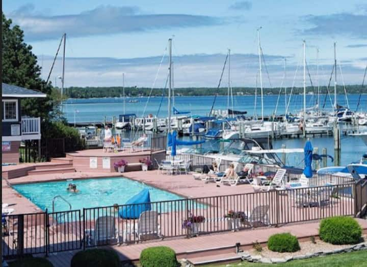 Lakefront condo living on Gorgeous Lake Charlevoix