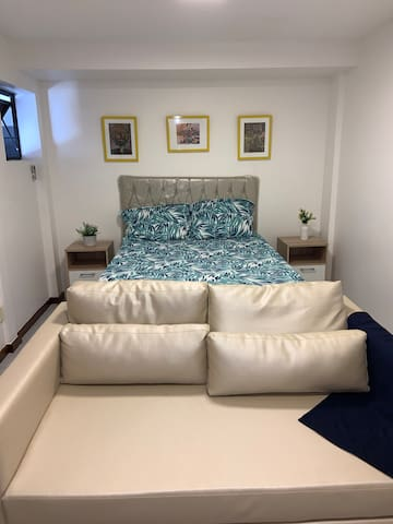 Suite para familia (04) em condominio fechado.