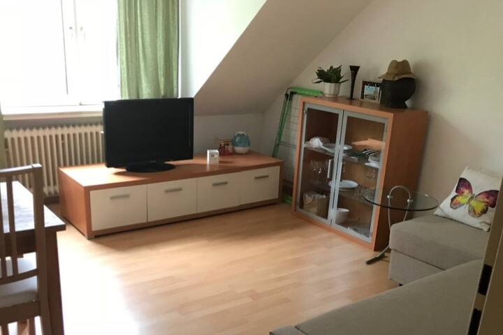 Cosy loft near the Alster channel