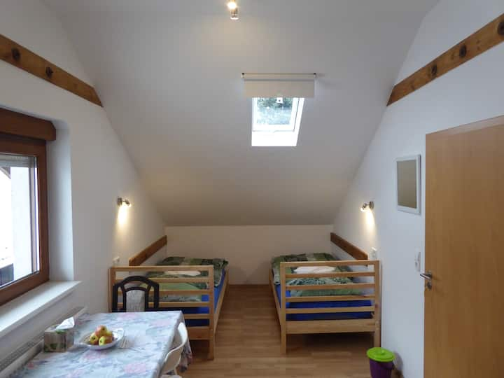Unterkunft im Stile einer Herberge, Zimmer 6