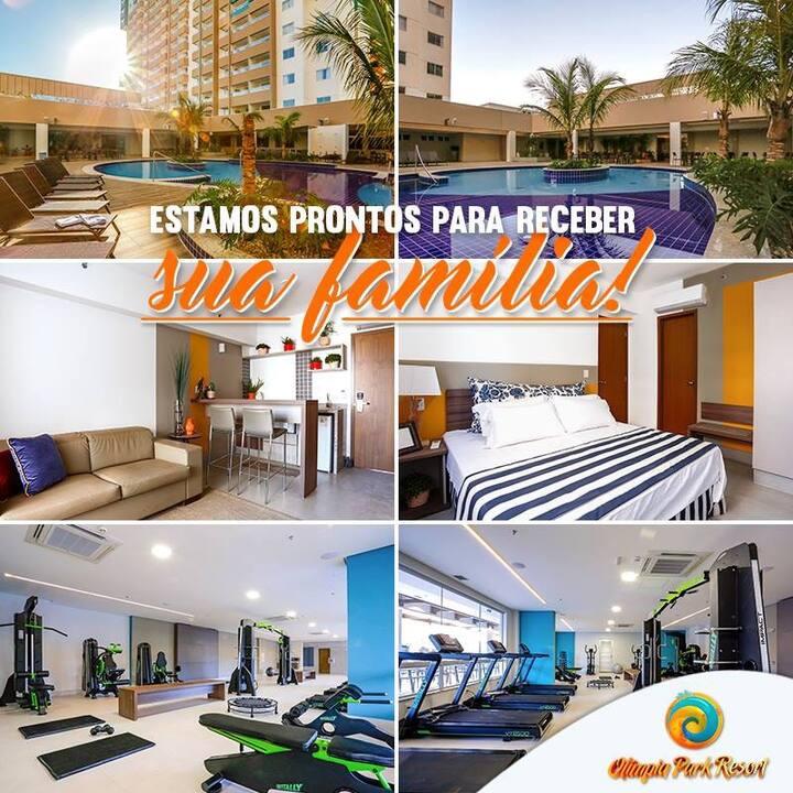 Olímpia Parque Resort    (290,00  a diária)