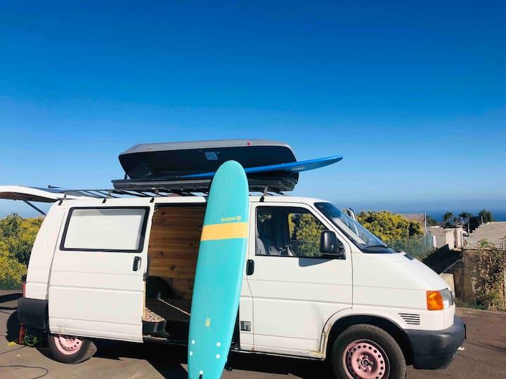 """""""Rosewood"""" Tenerife Campervan Wbus"""