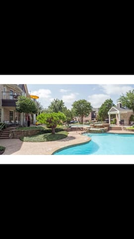 North Dallas private bed and bath - Carrollton - Byt