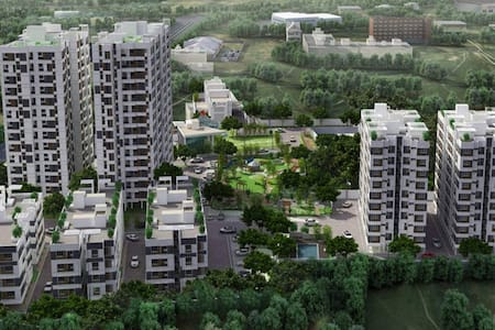 FF AC/2bHk Flat on 10th FlooR with aMaZinG ViEw