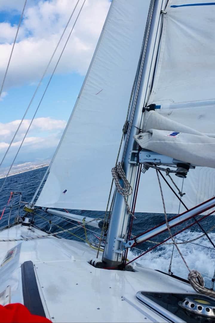 in navigazione nel golfo