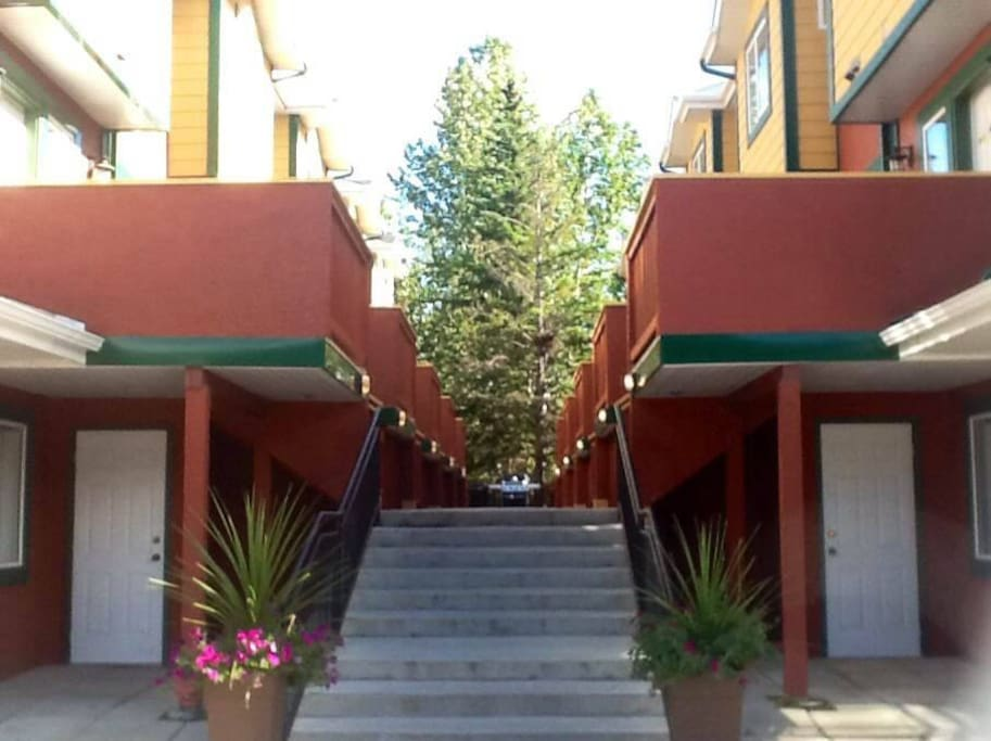 Stairwell to Exterior Entrances