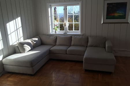 Close to Oslo centre and the beach - Hvalstad