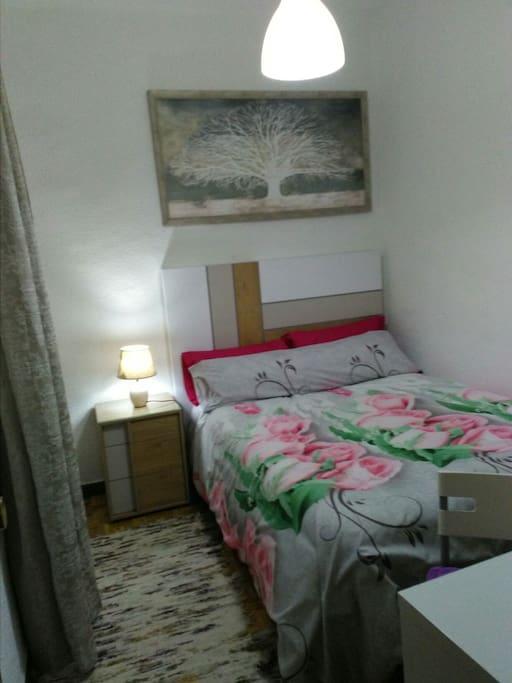 Dormitorio del huesped