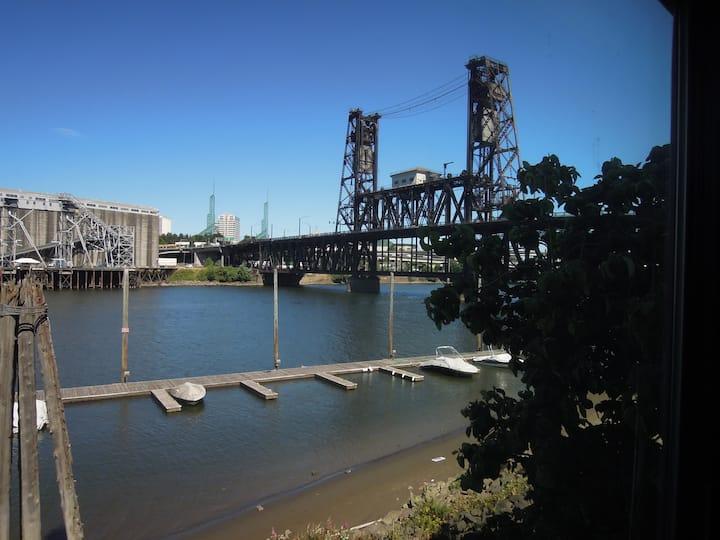 Riverfront Condo Downtown Portland