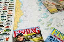 We love fishing and the Kurrimine Fishing Haven has everything you need for a family fishing trip - fishing magazines, charts, fish charts, green zone maps, filleting knife, fish cleaning table, boat washing gear oh and plenty of room for a boat!
