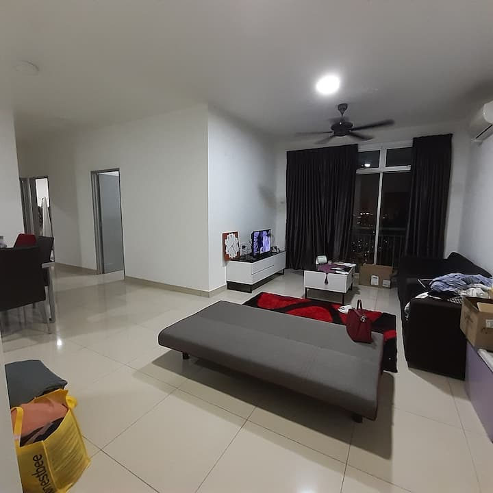 pandan residence 2  3 bed 2 bath fully furnished