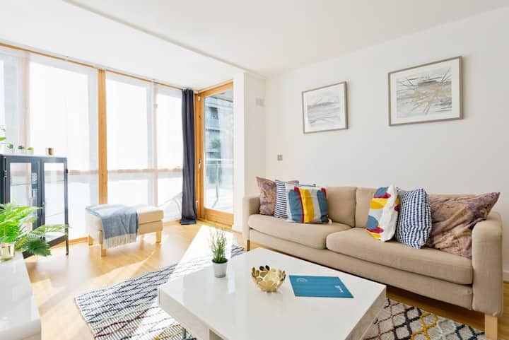 Bright, Lovely 1BR *Central Dublin *Grand Canal