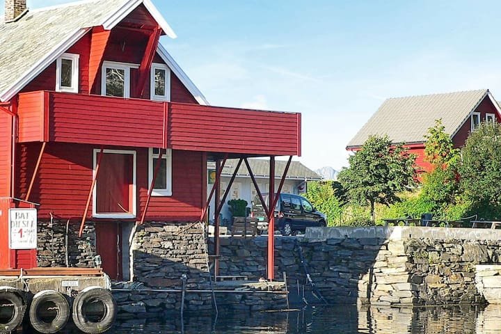 4 person holiday home in Sørbøvåg