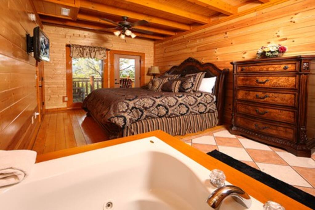 Paradise Mountain Pool Lodge-Bedroom